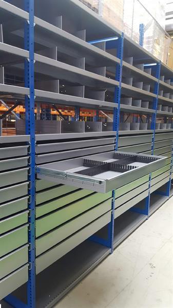 Grote foto ladenkast voor onderdelen werkplaatskast zakelijke goederen meubilair en inrichting