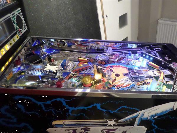 Grote foto hersteld 1992 the addams family pinball flipper spelcomputers games sega