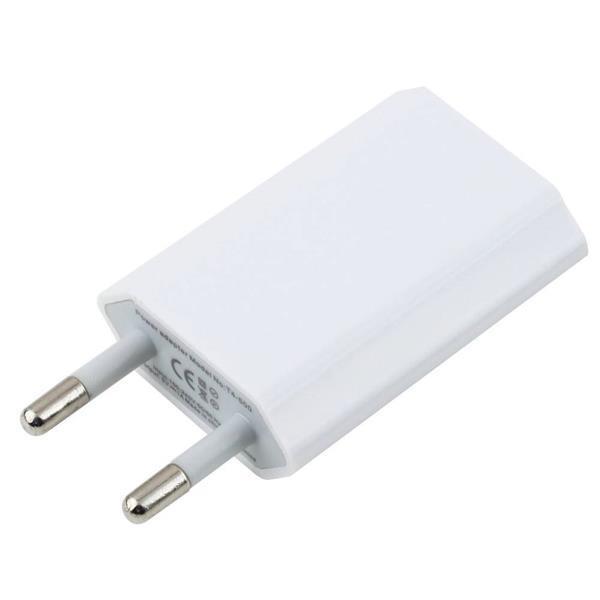 Grote foto 10 pack iphone ipad ipod stekker muur lader oplader usb ac t telecommunicatie opladers en autoladers