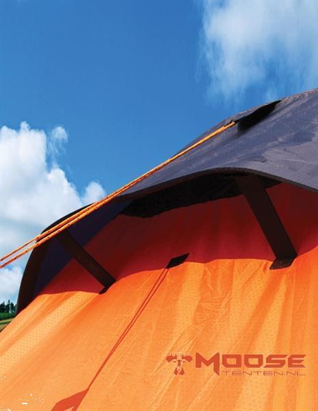 Grote foto moose air tent opblaasbare tent type 2020 oranje caravans en kamperen tenten