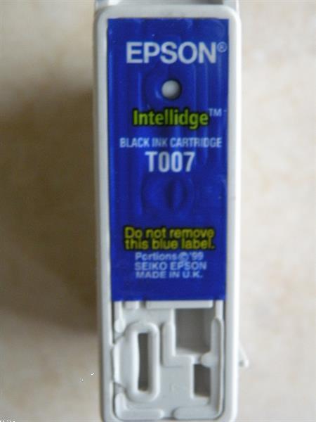 Grote foto cartridge zwart epson. nieuw. computers en software inktcartridges