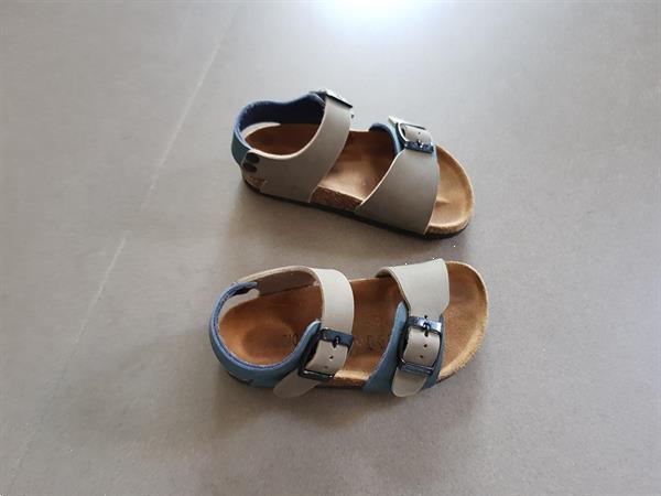 Grote foto jongenssandalen biomodex kinderen en baby schoentjes en sokjes