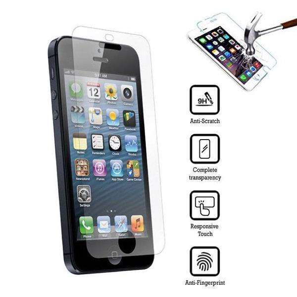 Grote foto 2 pack screen protector iphone 5s tempered glass film 076612 telecommunicatie toebehoren en onderdelen