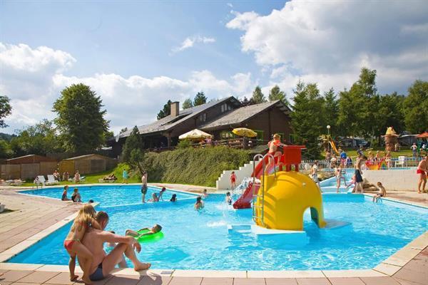 Grote foto stacaravan 5p op een camping met zwembad vakantie belgi