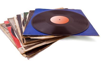 Grote foto 320 tal langspeelplaten voor dj retro house muziek en instrumenten platen elpees singles