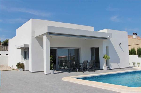 Grote foto moderne luxe vrijstaande villa s alicante huizen en kamers nieuw europa