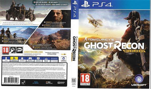 Grote foto ps 4 game gost recon computers en software overige