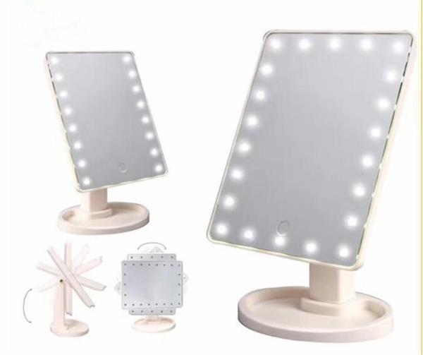 Grote foto make up spiegel led 360 graden makeup make up verlichting beauty en gezondheid gezichtsverzorging