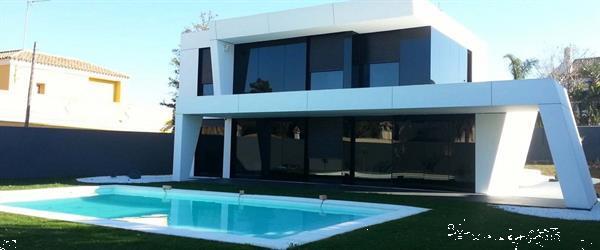 Grote foto nieuwe moderne villas costa blanca zuid huizen en kamers landhuizen