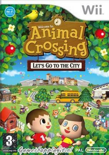 Grote foto animal crossing let go to the city wii spelcomputers games overige games