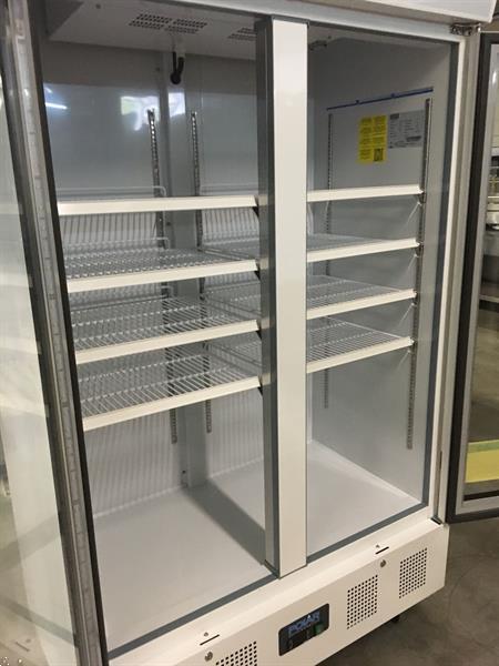 Grote foto nieuw polar dubbeldeurs glasdeurkoeling koelkast glazen deur diversen overige diversen