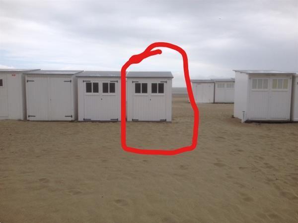 Grote foto strandcabine knokke heist vakantie belgi