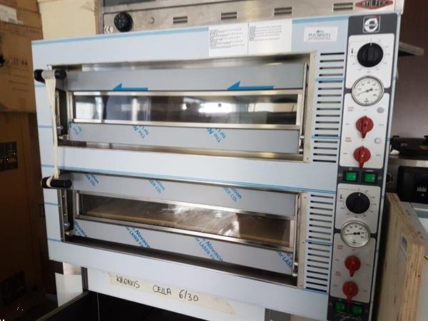 Grote foto nieuwe pizzaoven cuppone 2 x 6 pizzas zakelijke goederen keukenapparatuur