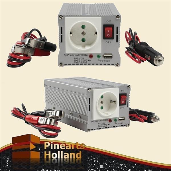 Grote foto 12 volt naar 230 volt omvormer 300 watt usb caravans en kamperen caravan accessoires