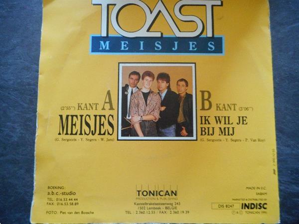 Grote foto singel toast b4 doe een bod muziek en instrumenten platen elpees singles