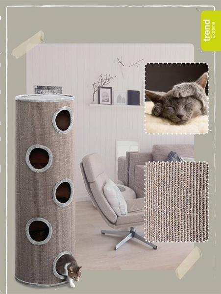 Grote foto ebi krabton trend cat dome extreme 150. keuze 352x krabpaal dieren en toebehoren katten accessoires