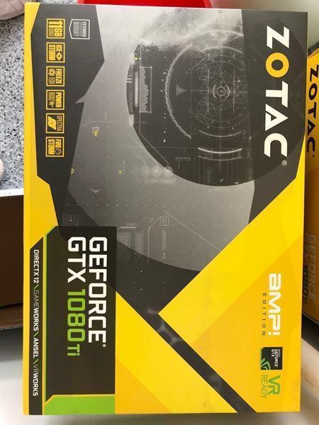 Grote foto zotac geforce gtx 1080 ti amp edition 11gb gddr5x computers en software videokaarten