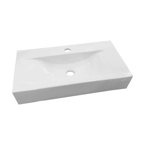 Grote foto wastafel best design begee rechthoek zonder overloop 62x32 5 doe het zelf en verbouw sanitair