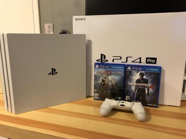Grote foto playstion 4 pro ps4 ps4 x 500gb with free 5 games spelcomputers games playstation 4