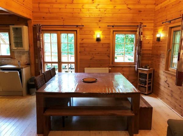 Grote foto in bos gelegen chalet met sauna voor 12 personen vakantie belgi