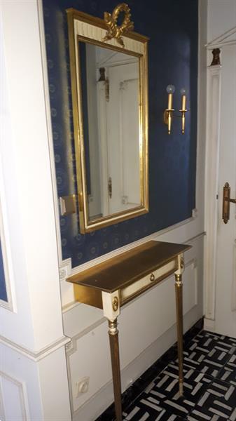 Grote foto mooie spiegel in empire stijl antiek en kunst spiegels