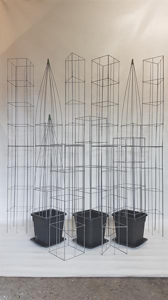 Grote foto plantenbak bloembakken compleet met raster tuin en terras bloembakken