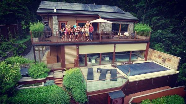 Grote foto durbuy ardennen pracht wellness chalet te huur vakantie belgi