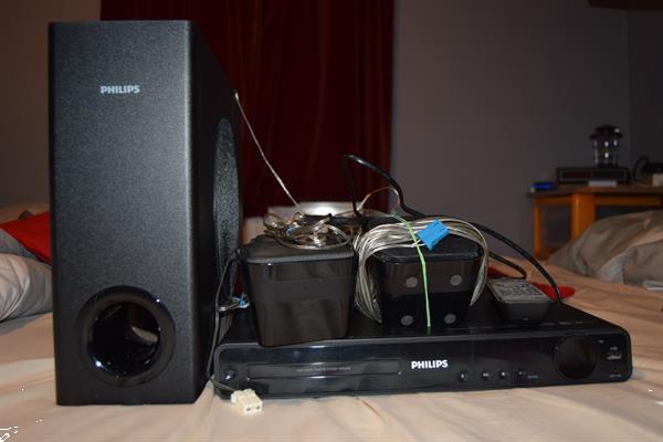 Grote foto philips home sound hdmi dvd audio tv en foto home cinema sets
