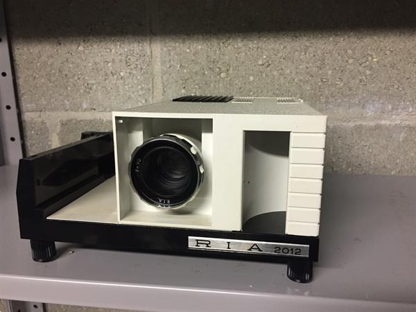 Grote foto diaprojector hobby en vrije tijd foto en video
