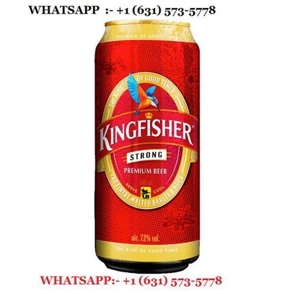 Grote foto kingfisher premium lager beer 24 x 660ml zakelijke goederen wijnen en dranken