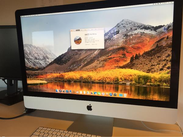 Grote foto imac 27 inch late 2012 computers en software desktop pc