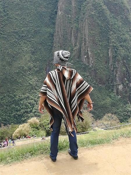 Grote foto ponchos uit peru koop online llama poncho kleding dames jassen zomer