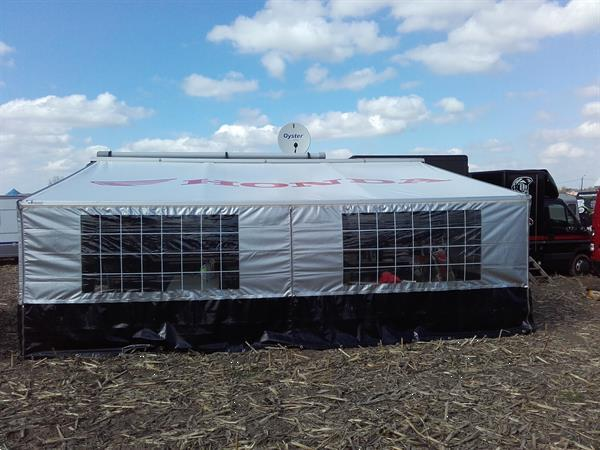 Grote foto mobilehome trailer caravans en kamperen camper