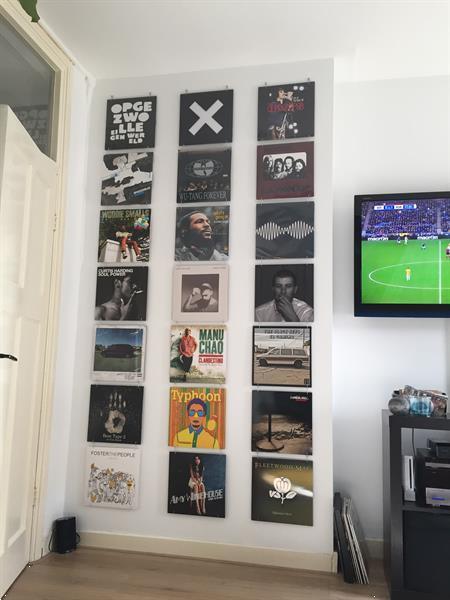 Grote foto lp muur systeem muziek en instrumenten platen elpees singles