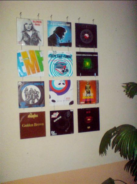 Grote foto singles muur systeem muziek en instrumenten platen elpees singles