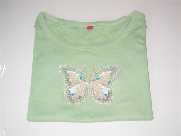 Grote foto t shirt groen esprit maat xl kleding dames t shirts
