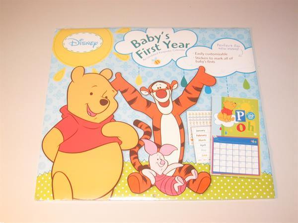 Grote foto winnie the pooh calendar 2012 baby first year kinderen en baby overige babyartikelen