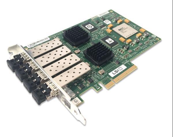 Grote foto 4p 4gb s pci e netapp x2054b r6 hba fibre channel computers en software netwerkkaarten routers en switches