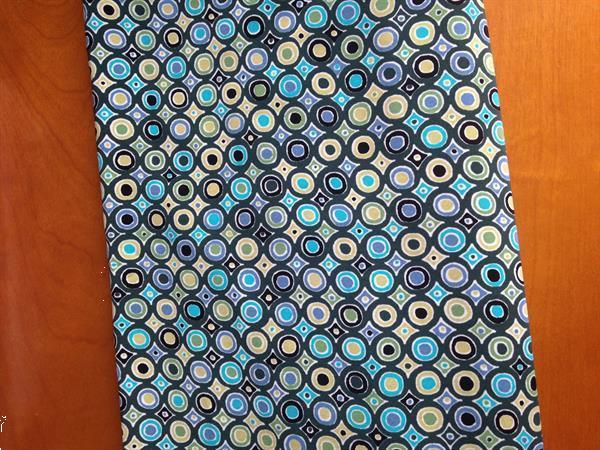 Grote foto tricot stof in blauwe tinten. l 1m50. hobby en vrije tijd naaien en fournituren