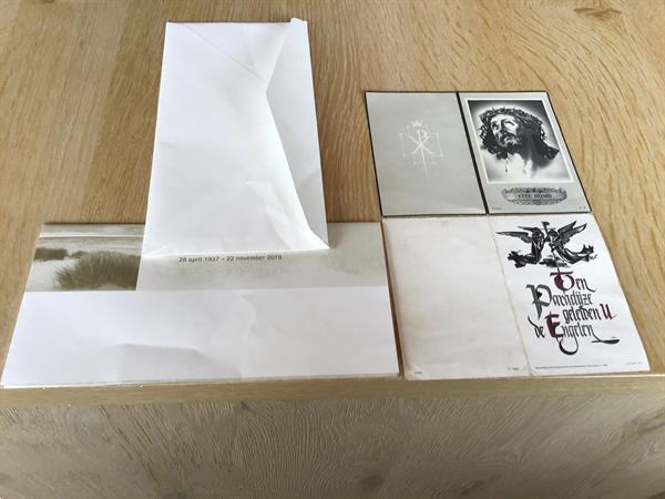 Grote foto 3 overlijdenskaarten geboren 1874 1893 en 1937 verzamelen bidprentjes en rouwkaarten