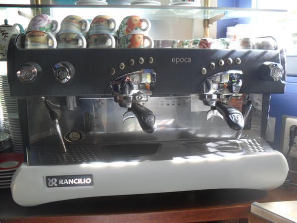 Grote foto koffieapparaat professioneel zakelijke goederen keukenapparatuur