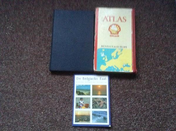 Grote foto atlassen v.d.wereld benelux europa v.d.panne boeken atlassen en landkaarten