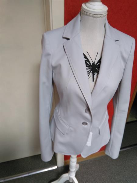 Grote foto blazer grijs patrizia pepe maat 38 nieuw kleding dames jasjes en kostuums