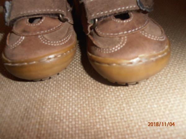 Grote foto bruine meisjesbottines oliver strelli maat 19 kinderen en baby schoentjes en sokjes