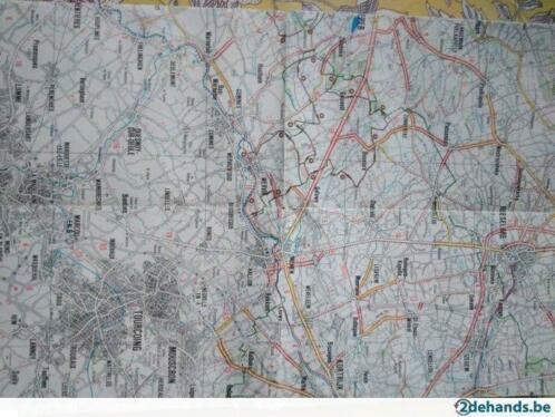 Grote foto fietskaart west vlaanderen van geocart hobby en vrije tijd overige hobby en vrije tijd