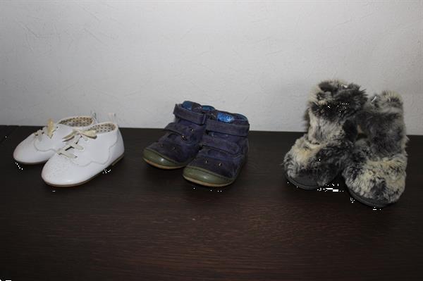 Grote foto schoenen maat 18 19 3 paar meisje kinderen en baby schoentjes en sokjes
