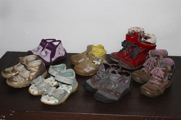 Grote foto schoenen maat 23 7 paar meisje kinderen en baby schoentjes en sokjes