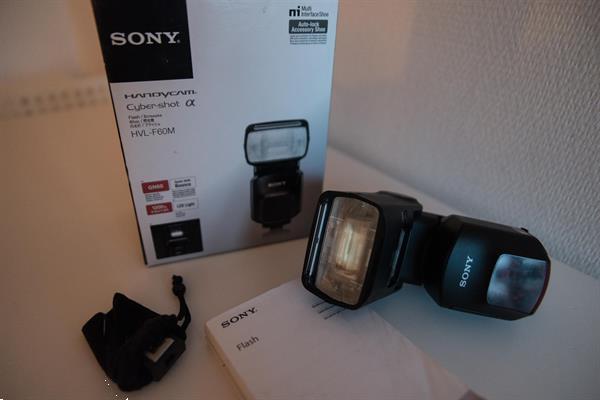 Grote foto sony hvl f60m flits audio tv en foto flitsers