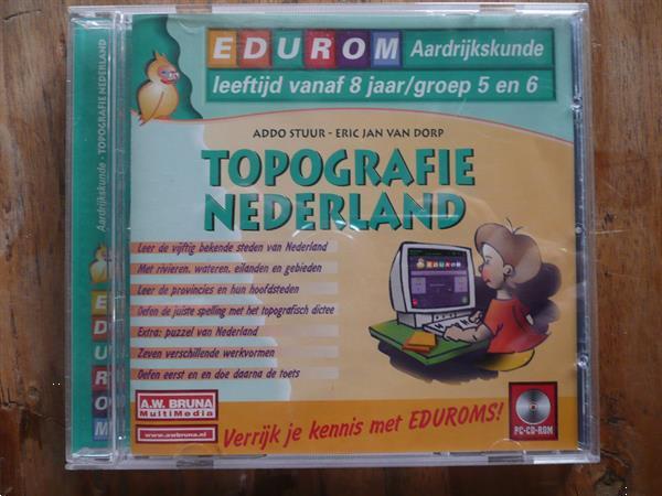 Grote foto topografie nederland op cd spelcomputers games pc