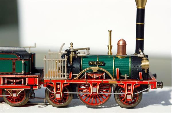 Grote foto marklin adler spoor i met 3 wagons hobby en vrije tijd overige schalen